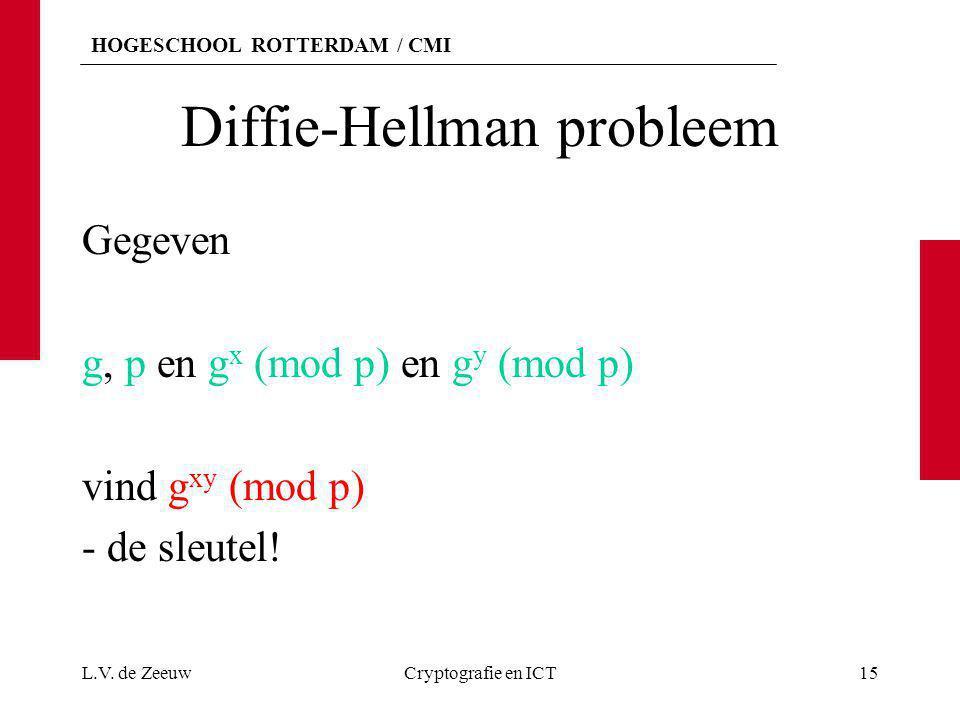 Diffie-Hellman probleem