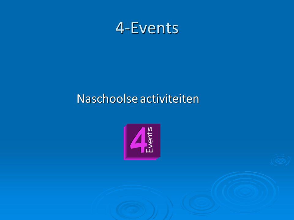 4-Events Naschoolse activiteiten