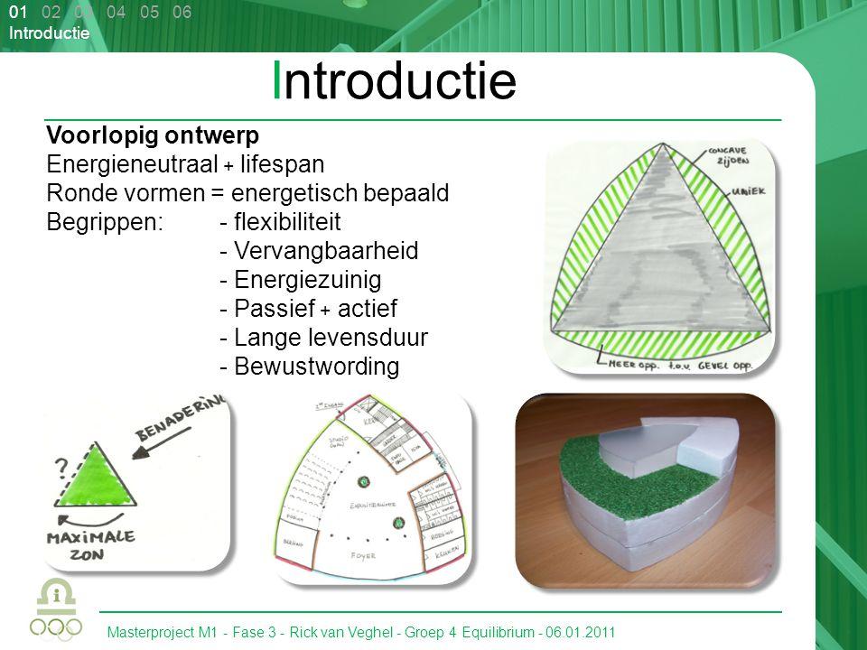 Introductie Voorlopig ontwerp Energieneutraal + lifespan