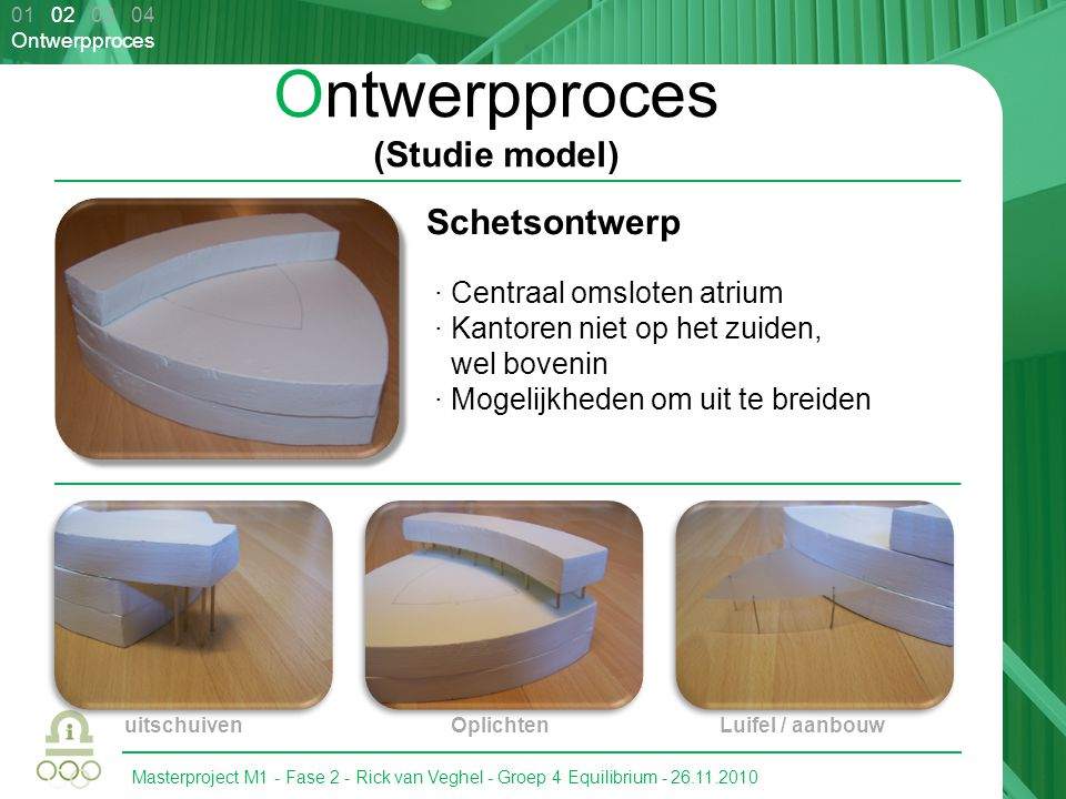 Ontwerpproces (Studie model)