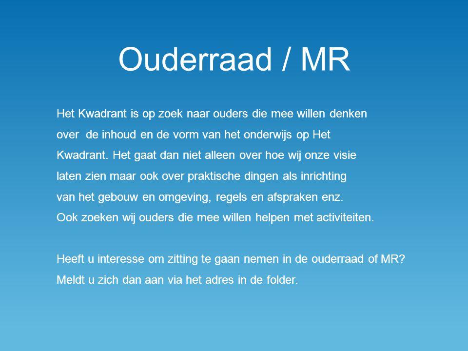 Ouderraad / MR