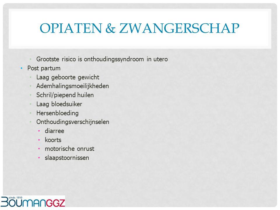 Opiaten & zwangerschap