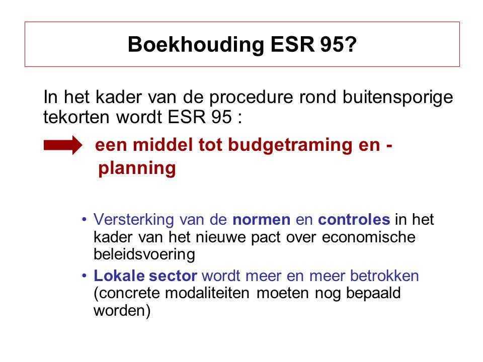 een middel tot budgetraming en - planning