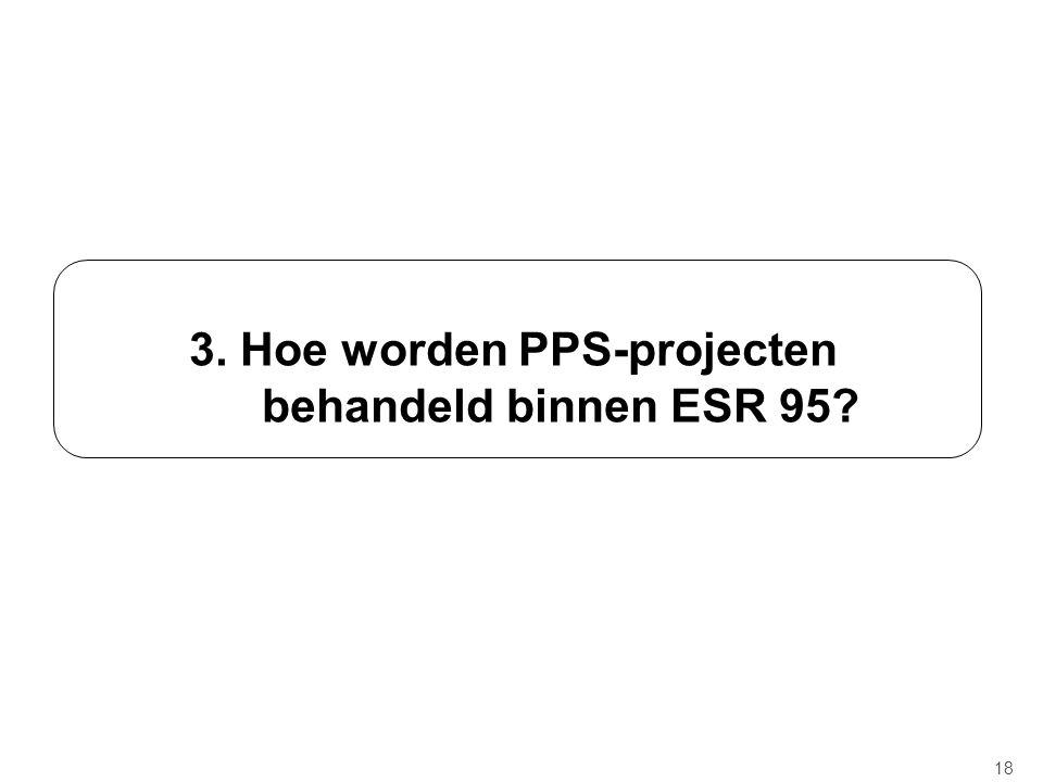 3. Hoe worden PPS-projecten behandeld binnen ESR 95