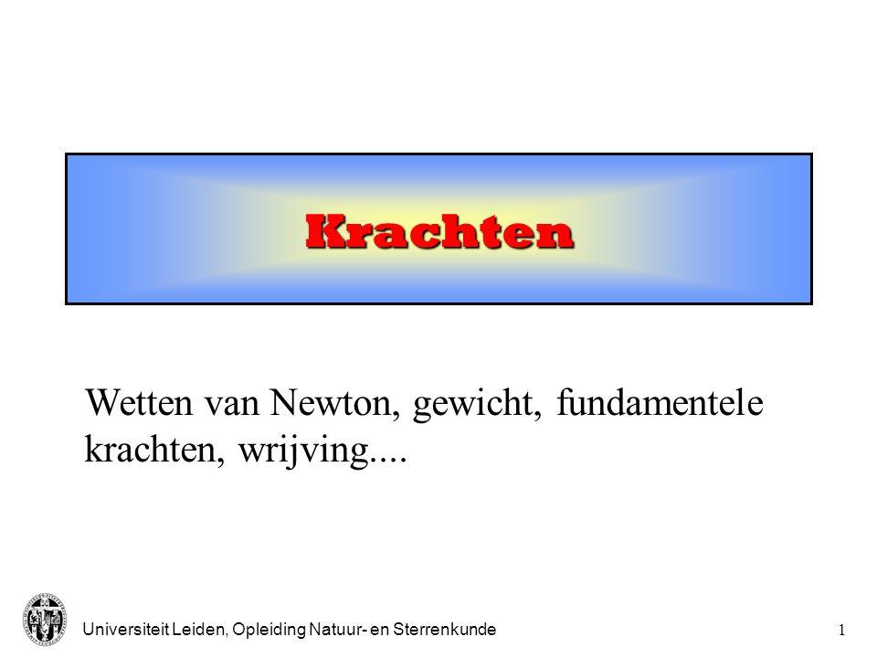 Krachten Wetten van Newton, gewicht, fundamentele