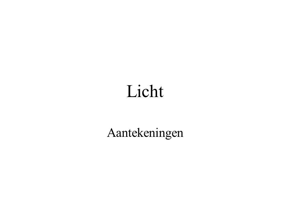 Licht Aantekeningen