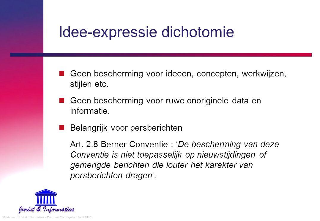 Idee-expressie dichotomie