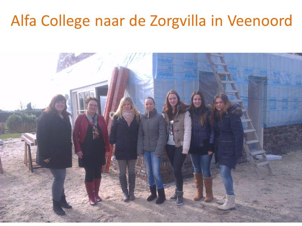 Alfa College naar de Zorgvilla in Veenoord