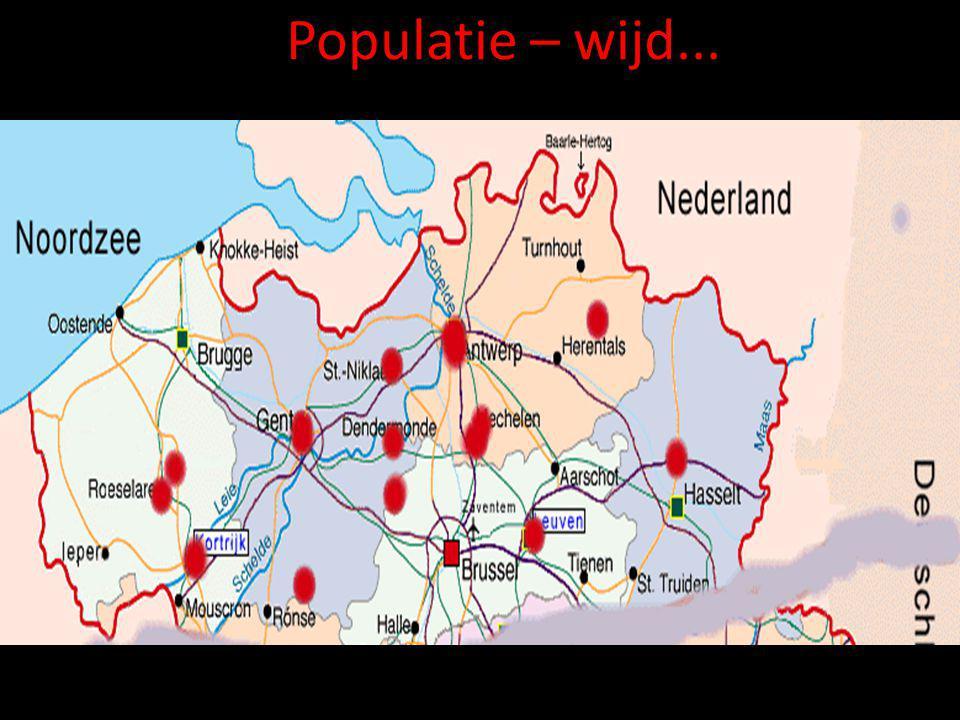 Populatie – wijd...