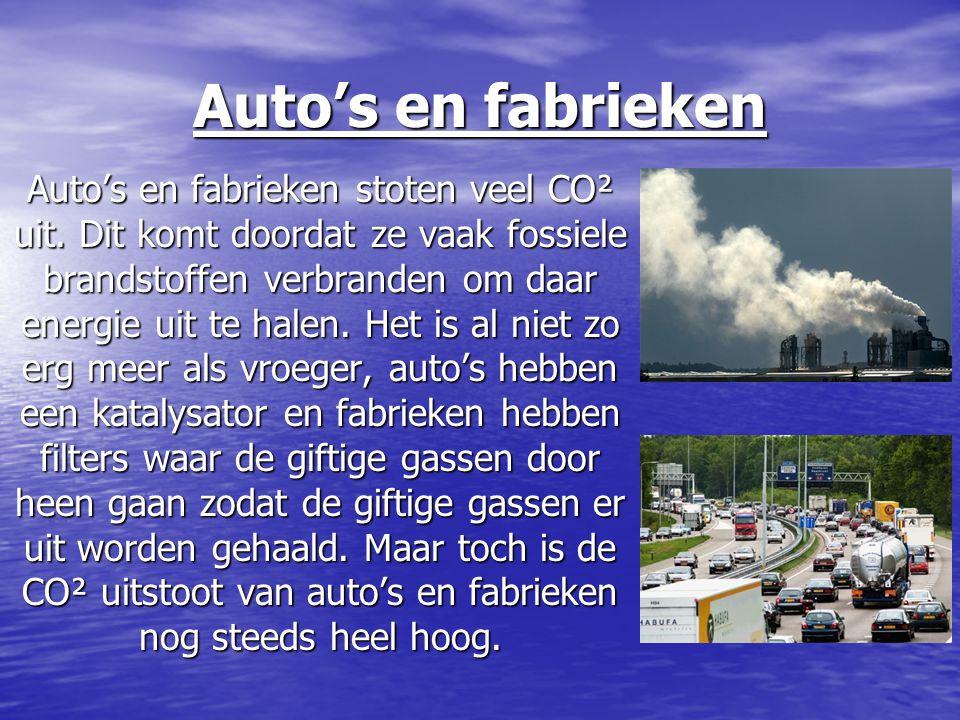 Auto's en fabrieken