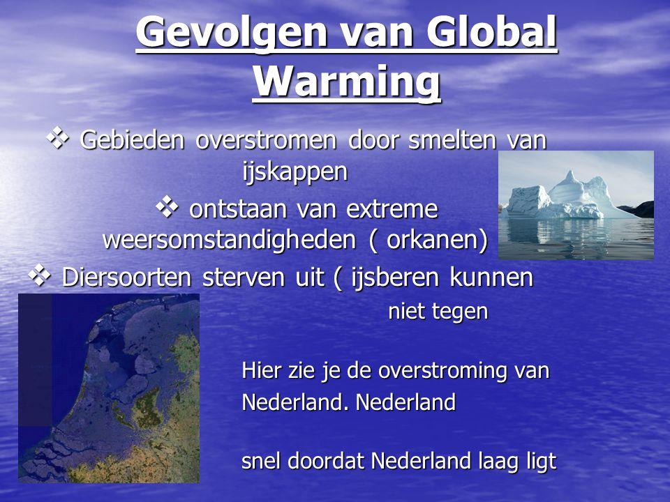 Gevolgen van Global Warming