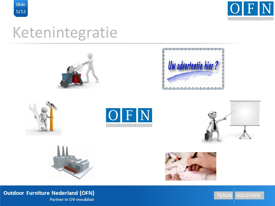 Ketenintegratie Outdoor Furniture Nederland (OFN) Slide 5/12