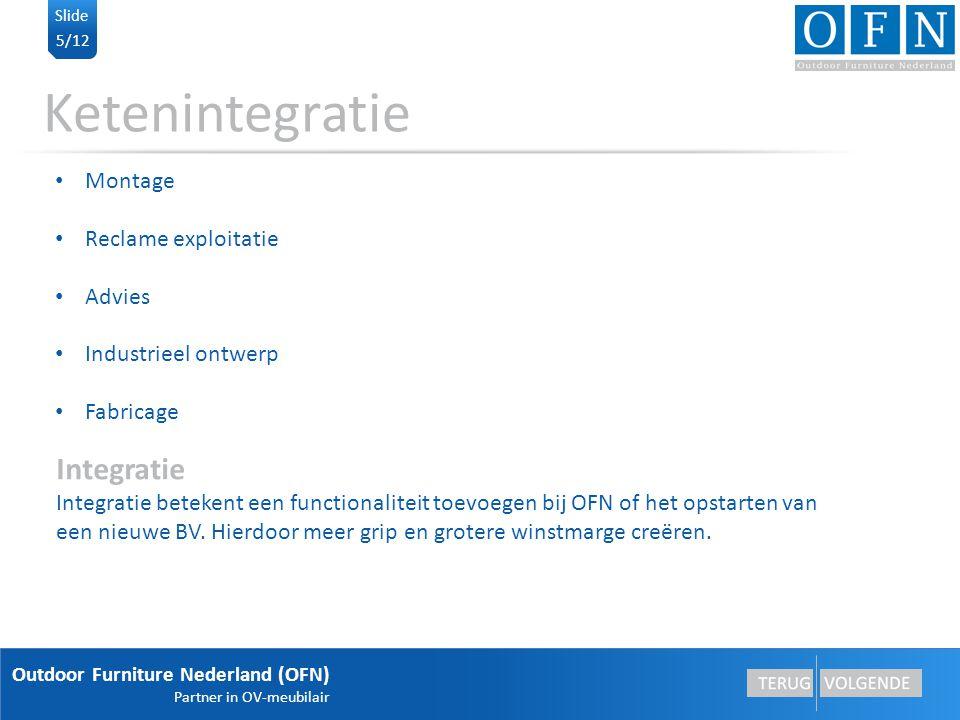 Ketenintegratie Integratie Montage Reclame exploitatie Advies