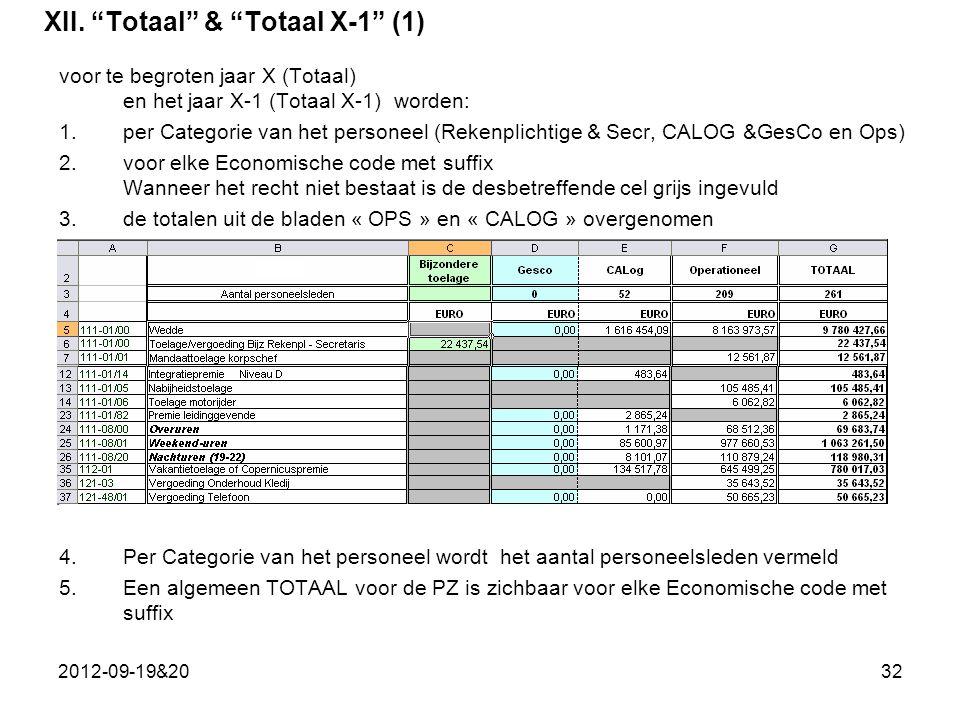 XII. Totaal & Totaal X-1 (1)