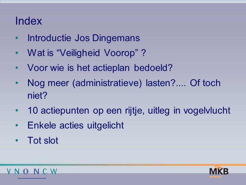 Index Introductie Jos Dingemans Wat is Veiligheid Voorop
