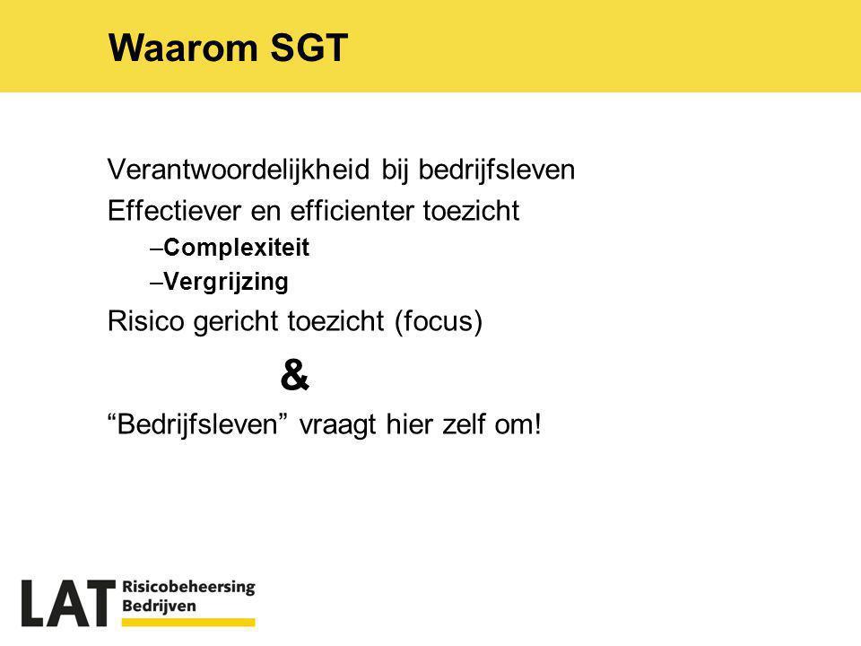 & Waarom SGT Verantwoordelijkheid bij bedrijfsleven