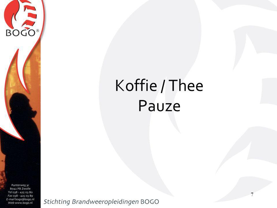 Koffie / Thee Pauze