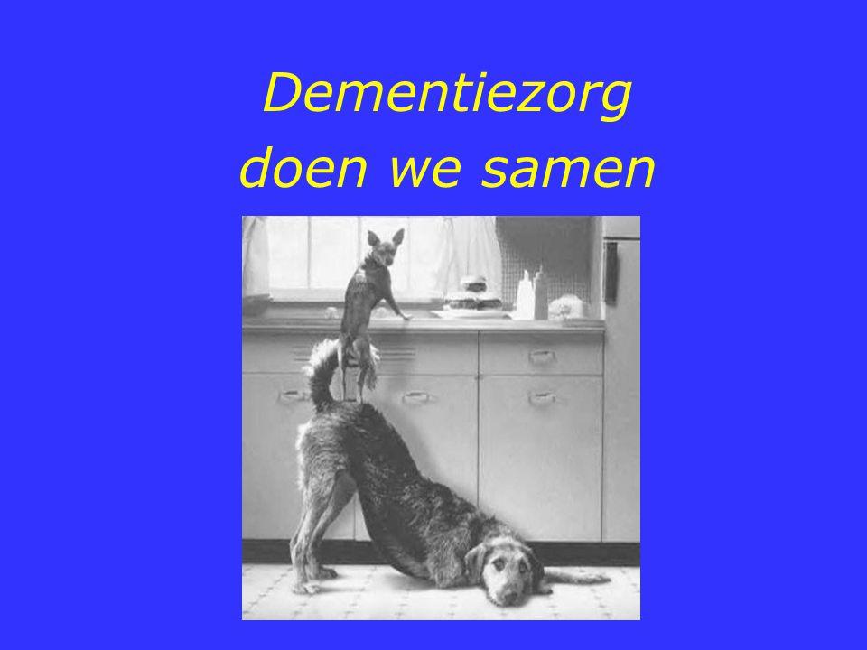 Dementiezorg doen we samen