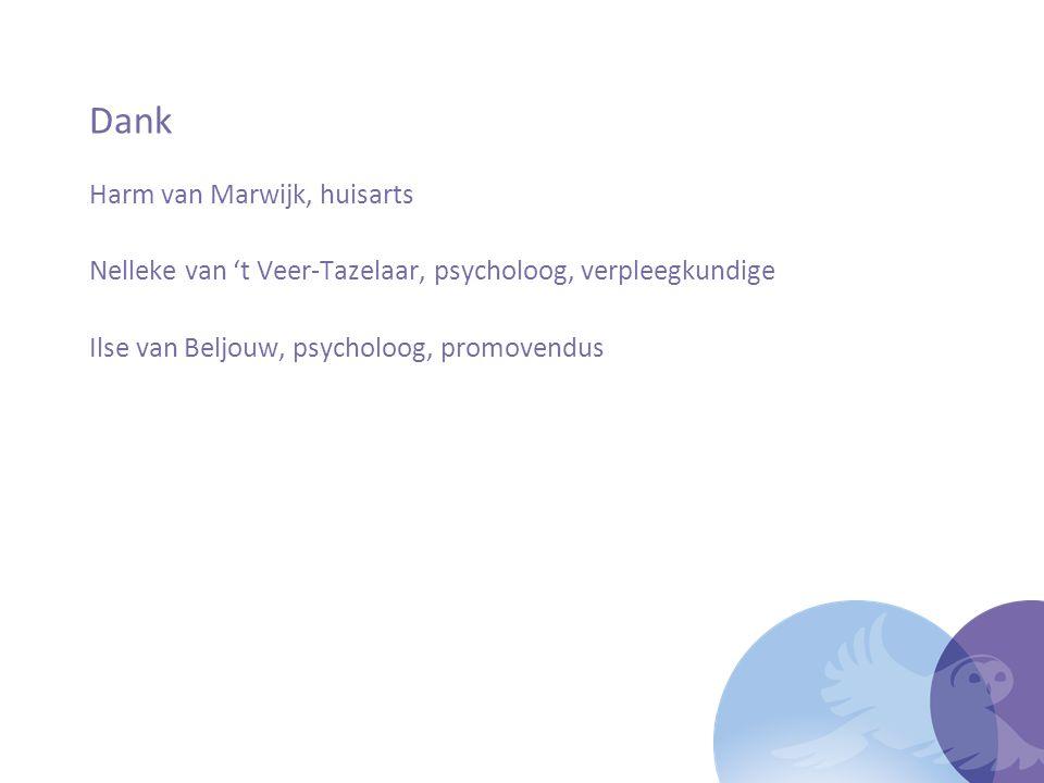 Dank Harm van Marwijk, huisarts