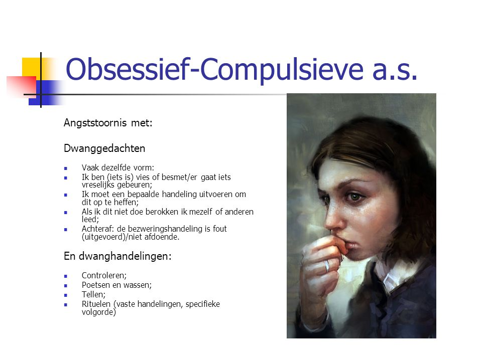 Obsessief-Compulsieve a.s.
