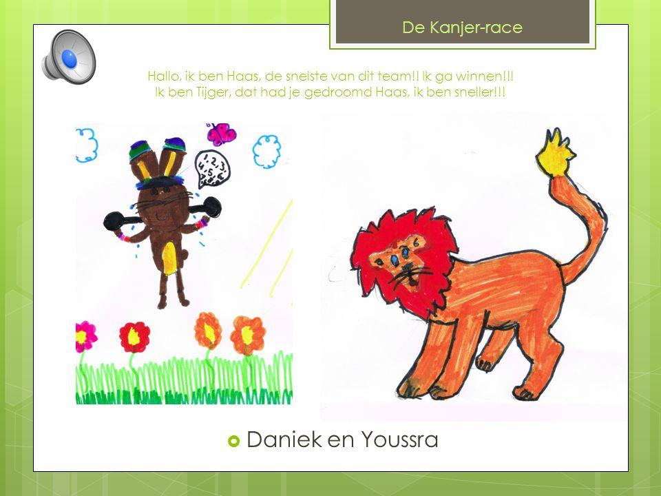 Daniek en Youssra De Kanjer-race