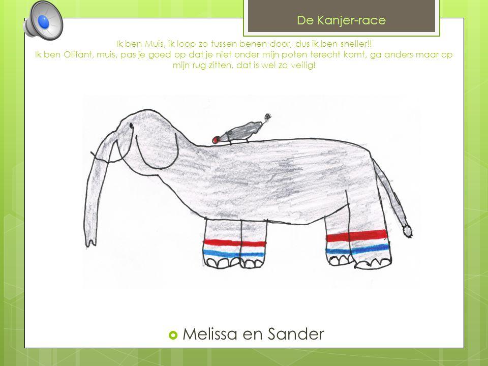 Melissa en Sander De Kanjer-race
