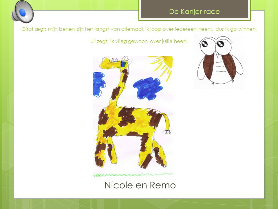 Nicole en Remo De Kanjer-race