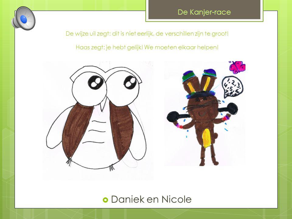Daniek en Nicole De Kanjer-race