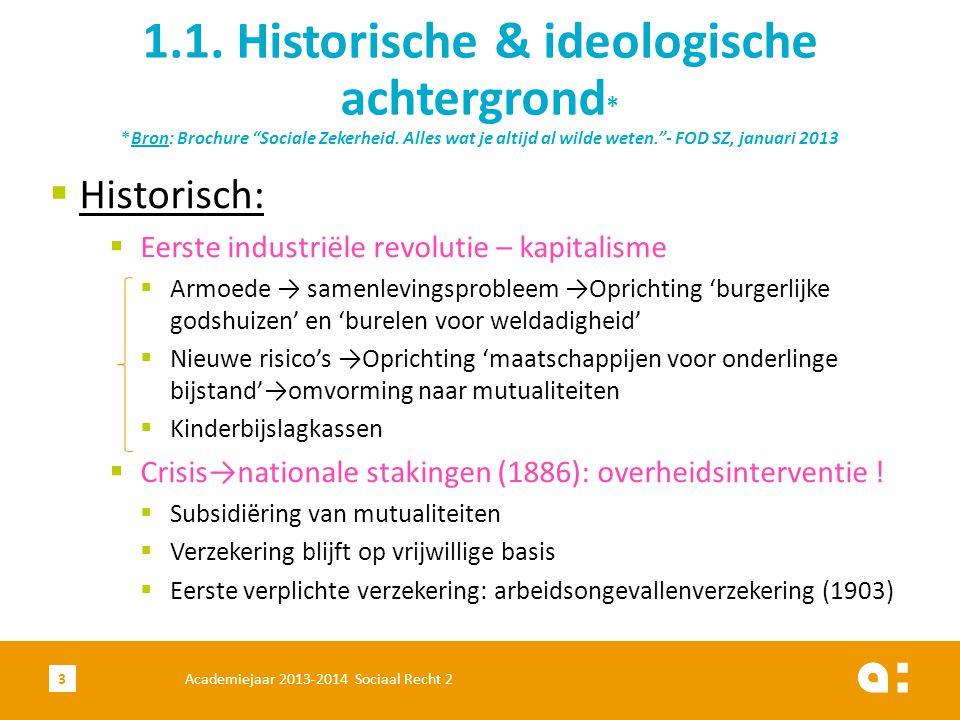 1. 1. Historische & ideologische achtergrond