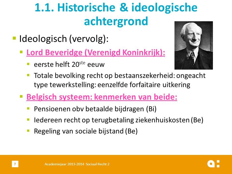 1.1. Historische & ideologische achtergrond