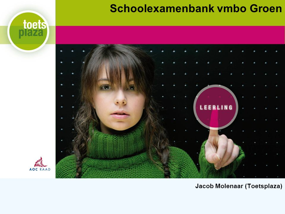 Schoolexamenbank vmbo Groen