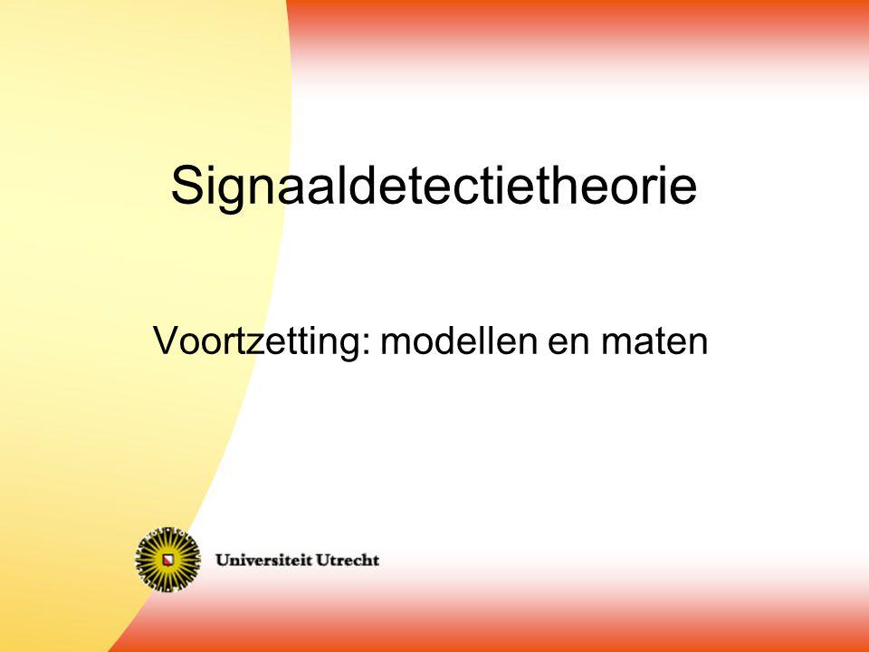 Signaaldetectietheorie