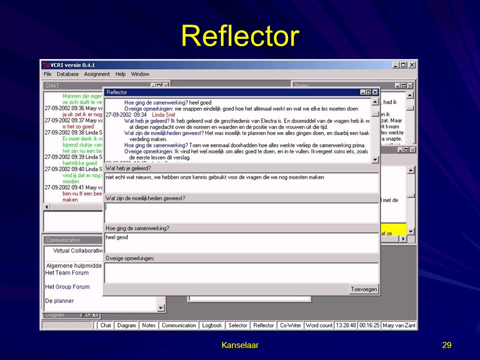 Reflector Kanselaar