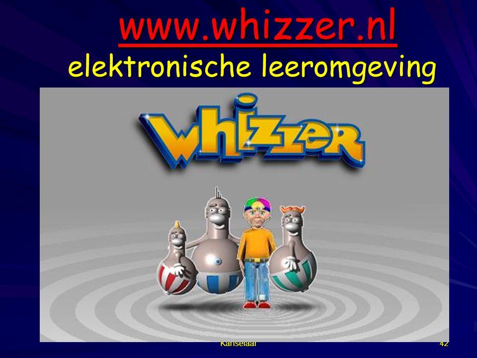 www.whizzer.nl elektronische leeromgeving