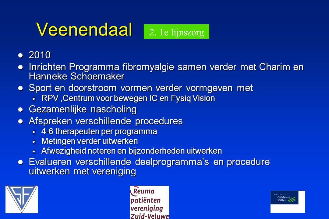 Veenendaal 2. 1e lijnszorg 2010