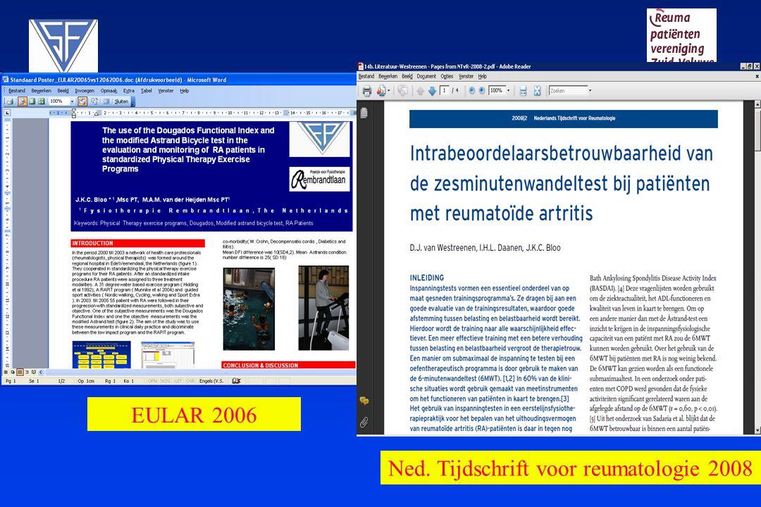 Ned. Tijdschrift voor reumatologie 2008