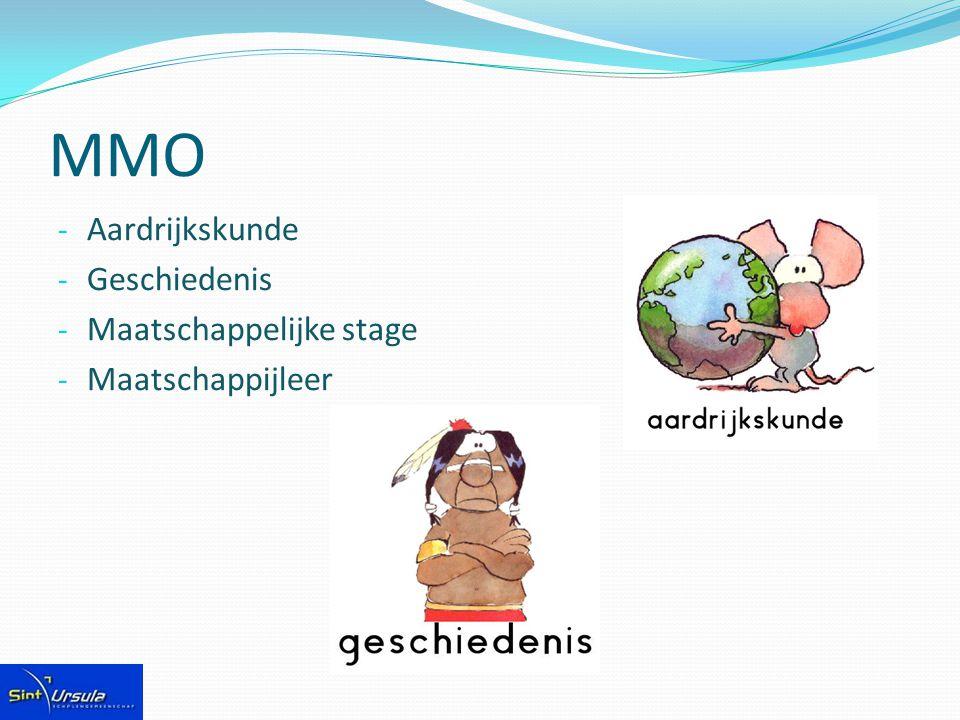 MMO Aardrijkskunde Geschiedenis Maatschappelijke stage