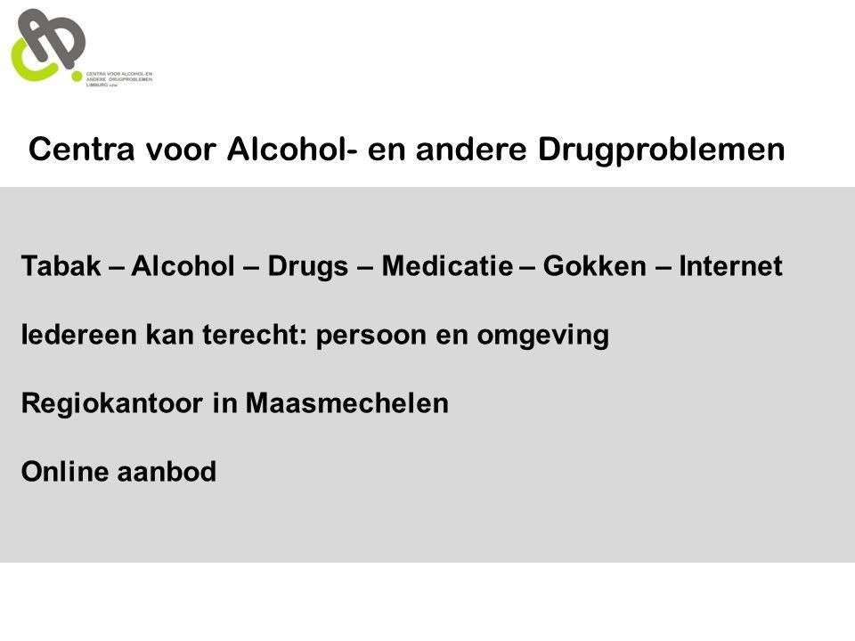 Centra voor Alcohol- en andere Drugproblemen