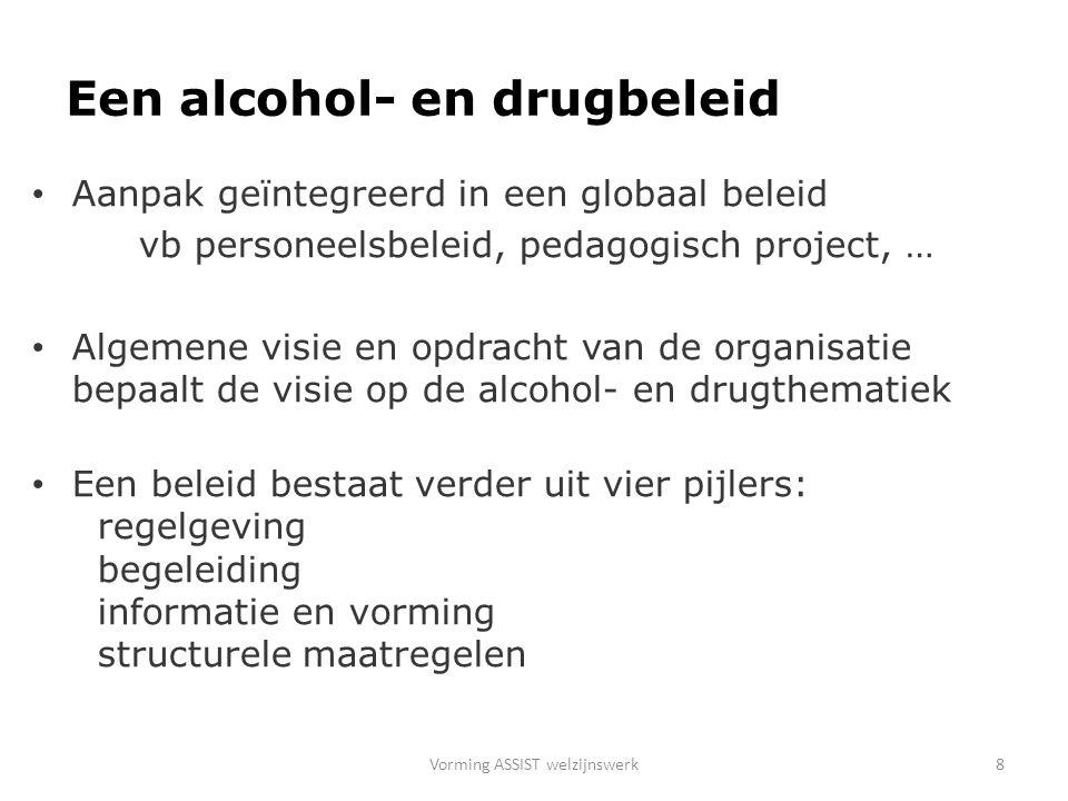 Een alcohol- en drugbeleid