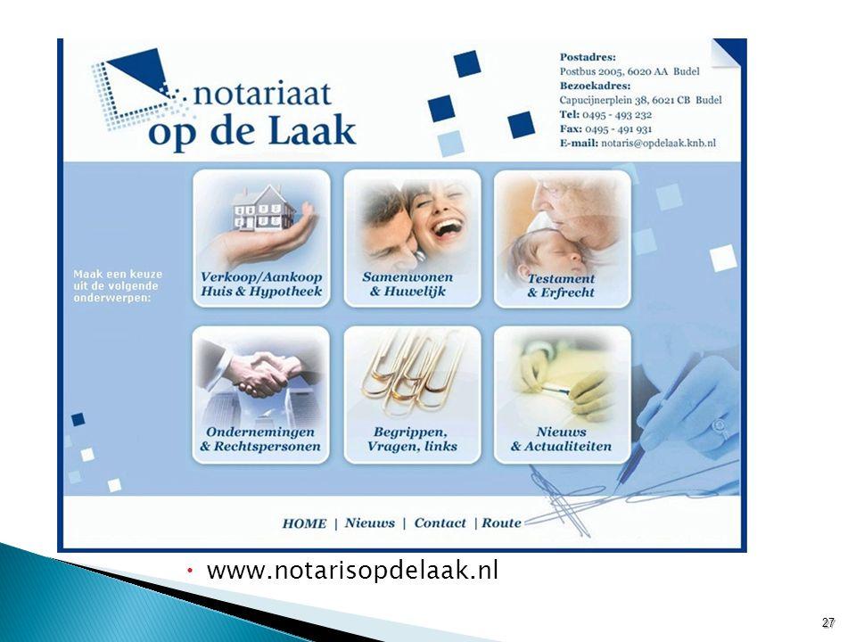 www.notarisopdelaak.nl