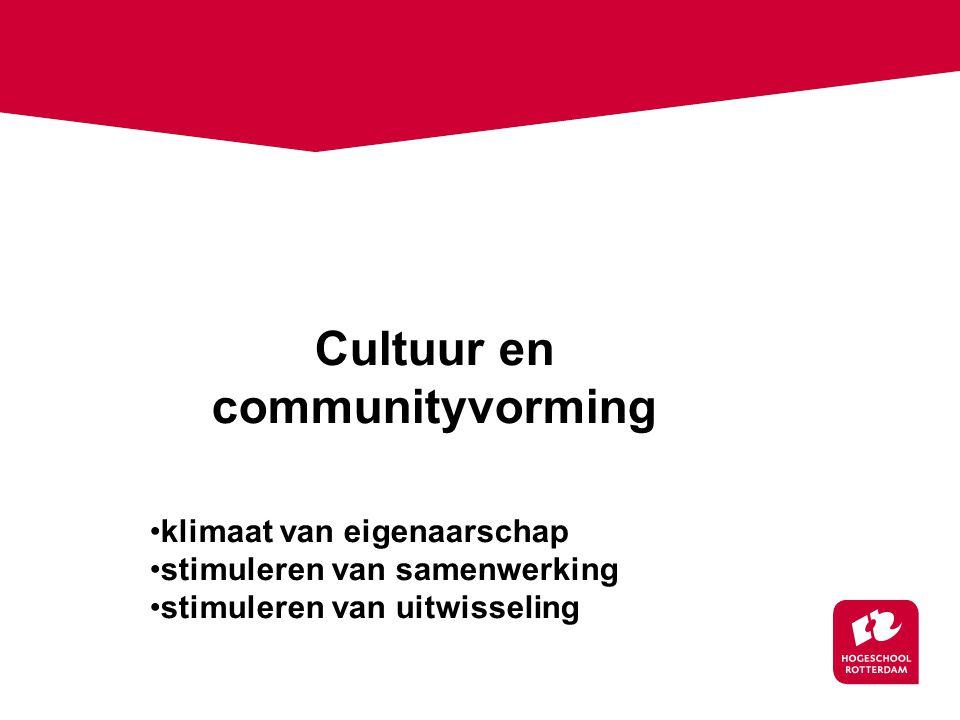 Cultuur en communityvorming