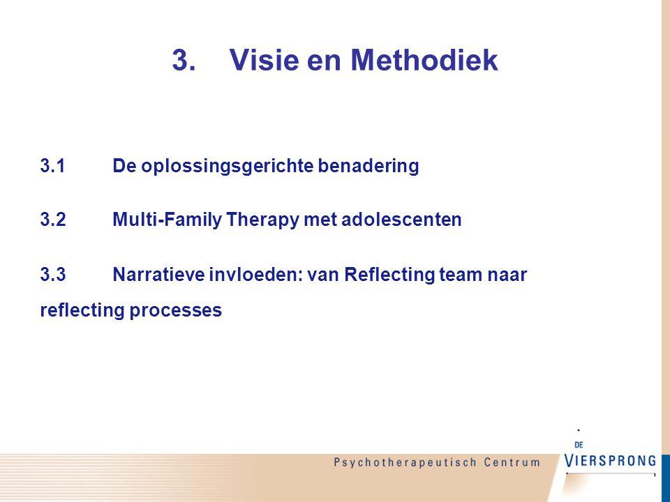 3. Visie en Methodiek 3.1 De oplossingsgerichte benadering
