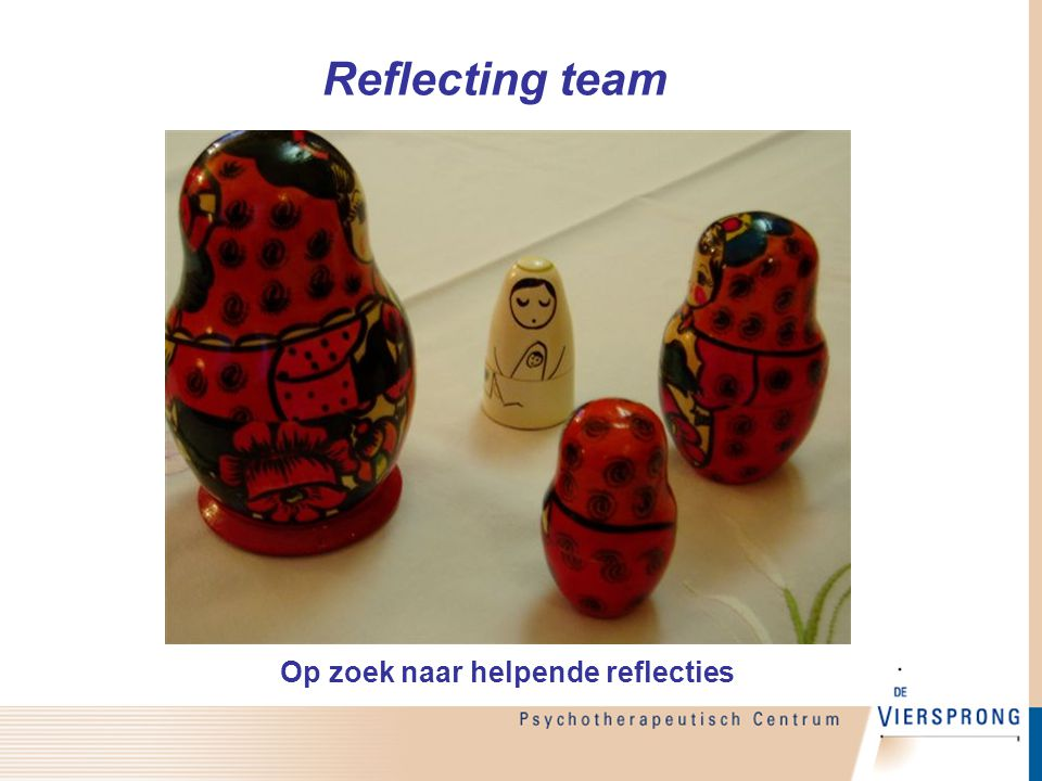 Op zoek naar helpende reflecties