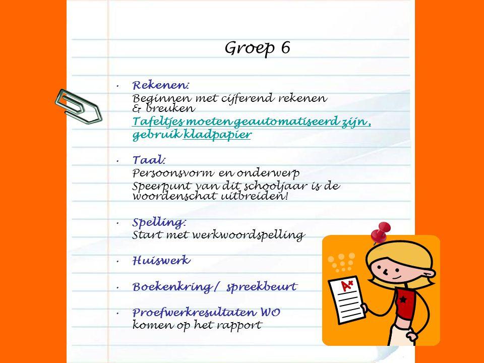 Groep 6 Rekenen: Beginnen met cijferend rekenen & breuken