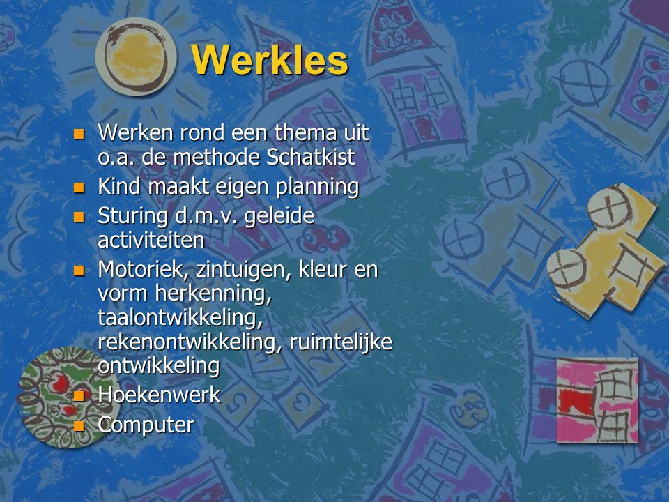 Werkles Werken rond een thema uit o.a. de methode Schatkist