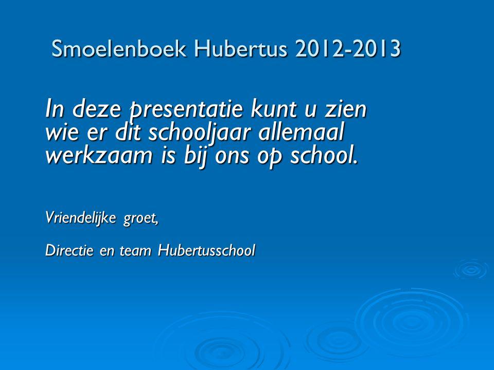 Smoelenboek Hubertus 2012-2013