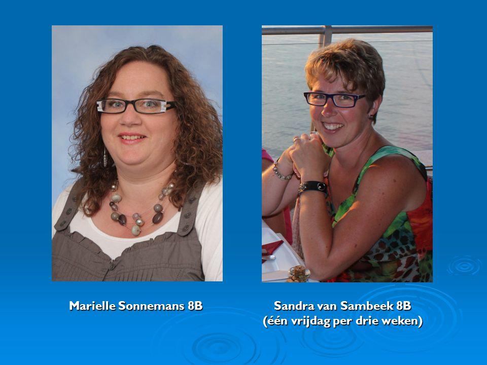 Marielle Sonnemans 8B. Sandra van Sambeek 8B