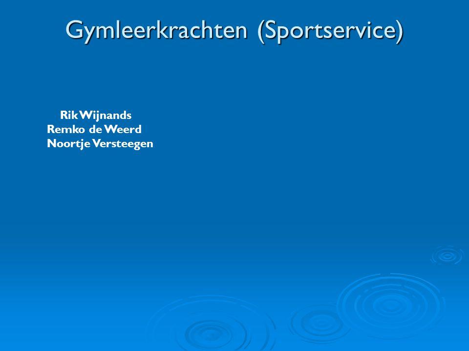 Gymleerkrachten (Sportservice)
