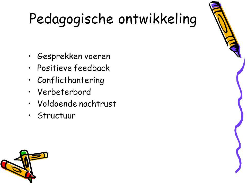 Pedagogische ontwikkeling