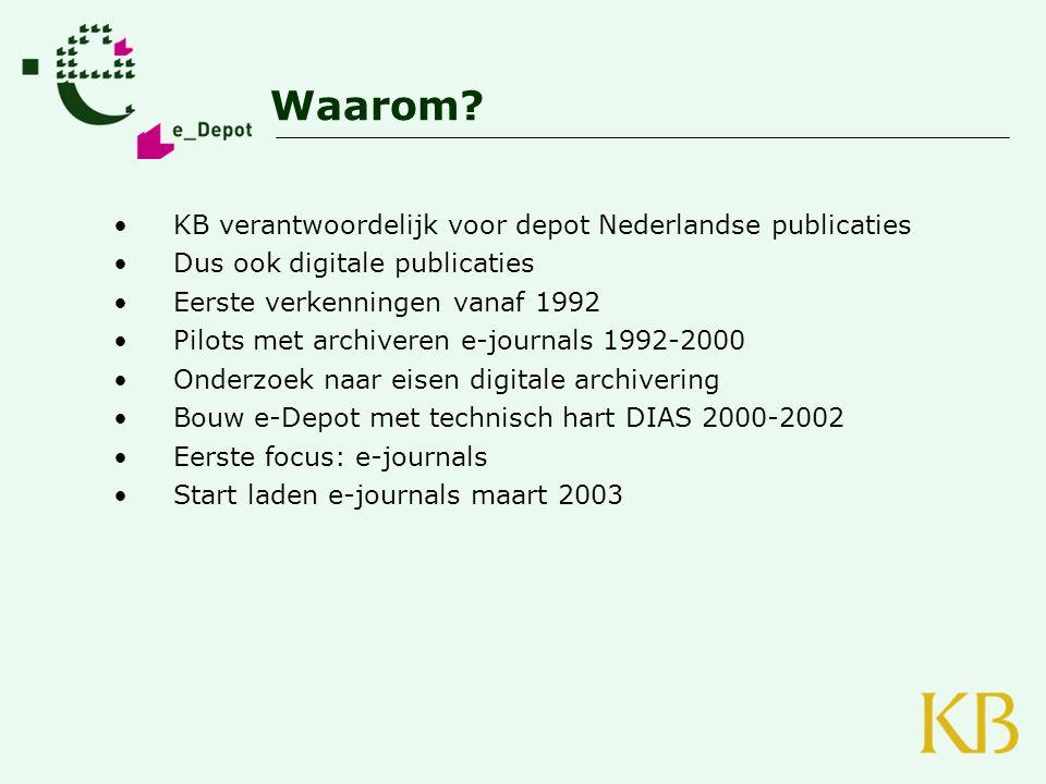 Waarom KB verantwoordelijk voor depot Nederlandse publicaties